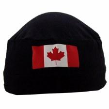 Skull Cap Canada Flag
