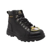 """Men's Steel Toe 6"""" Boot Black"""