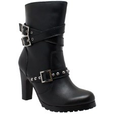 Ladies Studded Harness Boot