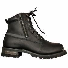 "Mens 6"" Refr Dble Zipper Boot"