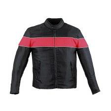 Men's Textile Jacket Orange