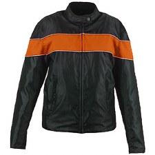 Ladies Textile Jacket Orange