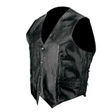 Men's Side Lace Leather Vest
