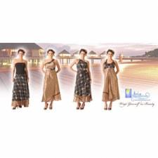 Iris Ladies Wrap Dresses