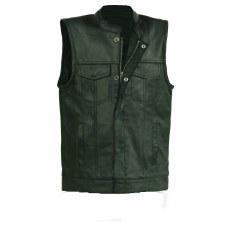 Youth Sized Club Vest Black