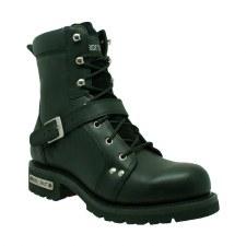 "Men's 6""Zipper Lace Biker Boot"