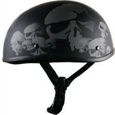 Beanie Helmet MB W/Skulls