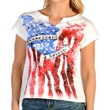 Ladies American Spirit Tee