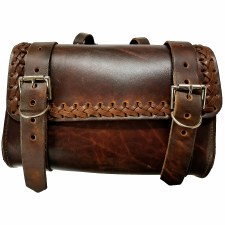 Laced Tool Bag Antique Finish