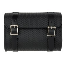 Basket Weave Tool Pouch Black