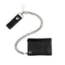Tri-Fold Wallet W/Chain