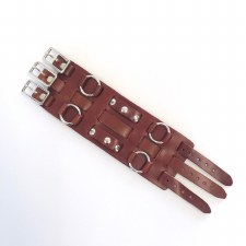 Four Ring Studded Cuff