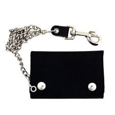 XL Tri-Fold Wallet Black