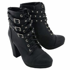 Ladies Lace to the Toe Boots