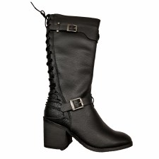 Ladies Back End Laced Boot
