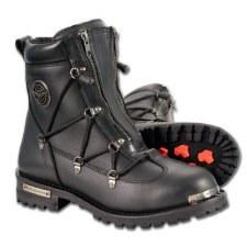 Men's Boot W/Laces Black