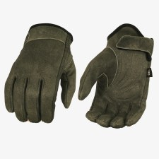 Men's Distress GreyShort Glove