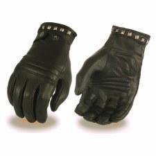 Ladies Lined Glove W/Sq Studs