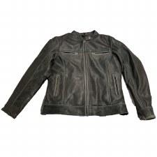 Ladies Distressed Grey Jacket