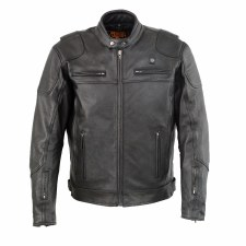 Men's Heated Leather Jacket