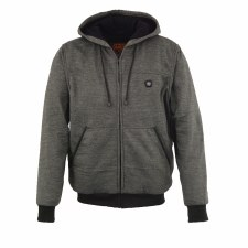 Ladies Heated Hoodis Grey