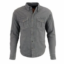Men's Armored Denim Shirt