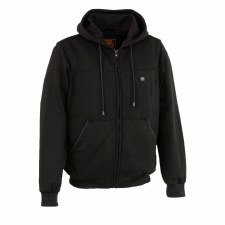 Men's Heated Fleece Hoodie Bk