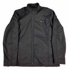 Men's Heated Fleece Jacket Bk