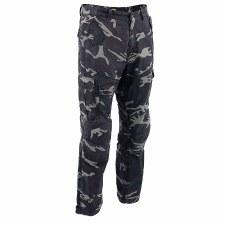 Men's Armored Jeans Black Camo