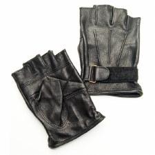 Goatskin Fingerless Gloves