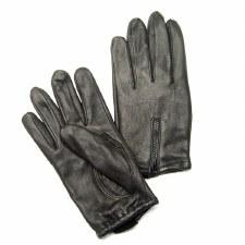 Deerskin Glove with Zipper