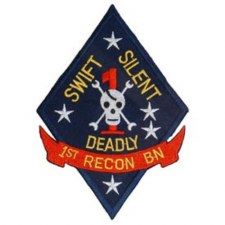 Patch USMC 1st Recon Btl