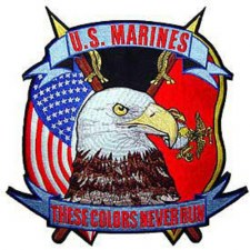 Patch USMC These Colors