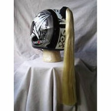 Helmet Pony Tails Blonde