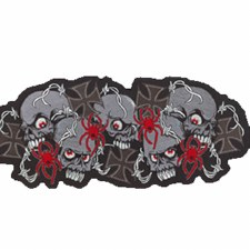 Skull & Crosses Patch