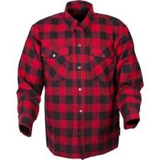 Covert Flannel Shirt Rd/Bk