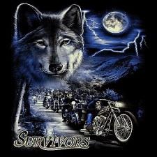 Survivors T-Shirt Black
