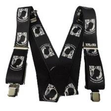 "Suspender 48"" POW Black"