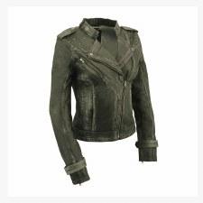 Ladies Jacket W/Quilting Black