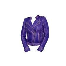 Ladies MC Fashion Jkt Purple