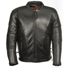Men's Vented Scooter Jacket Bk