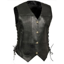 Ladies 6 Pocket Laced Vest