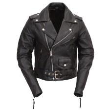Kids Basic MC Jacket Black