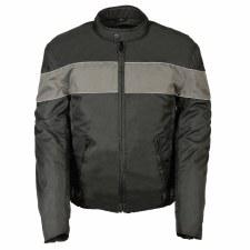 Men's Nylon Jacket Bk/Gr