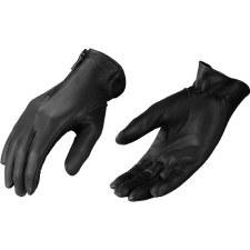 Ladies Short Glove W/Zipper Bk