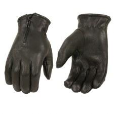 Men's Deer Skin Glove W/Zipper