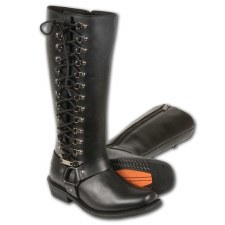Ladies Tall Boot W/Side Laces