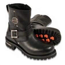 Men's Short Harness Boot W-Zip