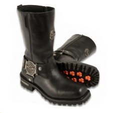 Men's Harness Boot W-Zipper