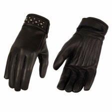 Ladies Studded Cuff Glove